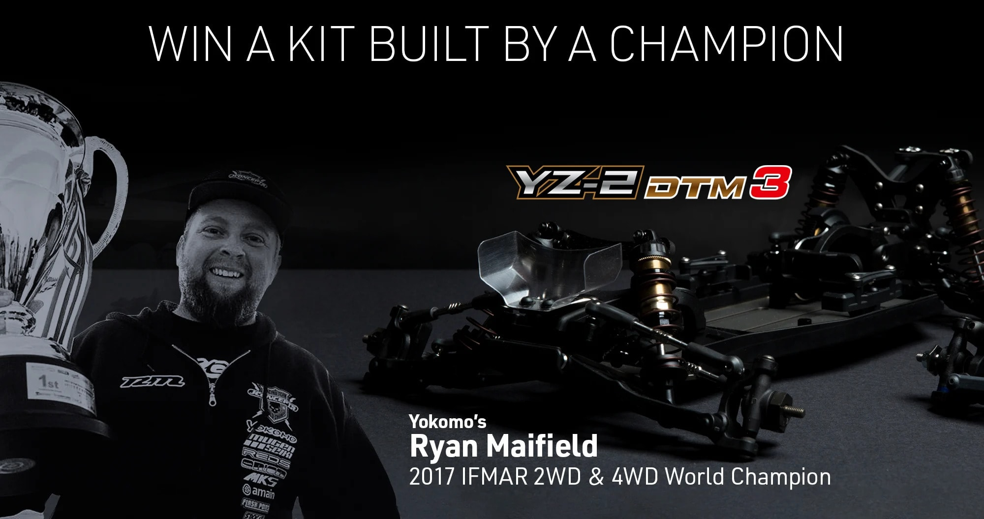 AMain Hobbies Latest Contest: Enter for a Chance to Win a Yokomo YZ-2 DTM 3.0 Built by Ryan Maifield