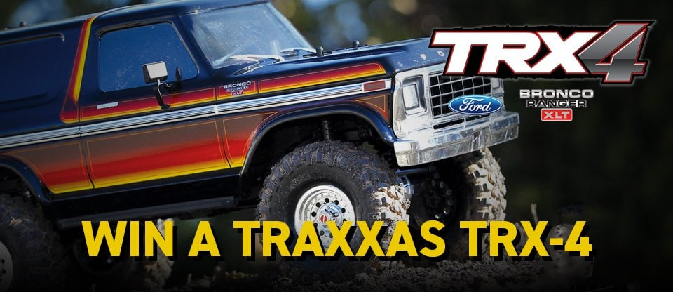 Enter to Win a Traxxas TRX-4 Ford Bronco from AMain Hobbies!