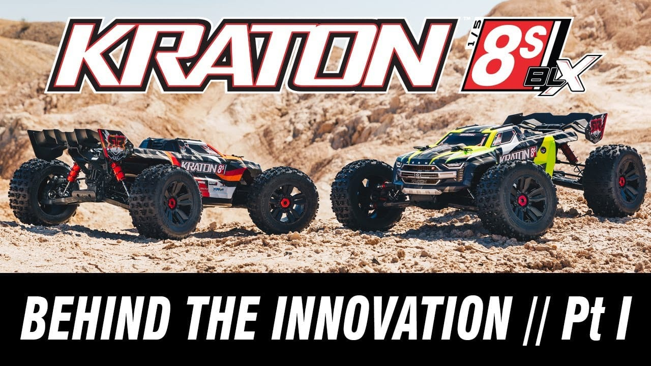Get an Insider's Look at the Development of the ARRMA Kraton 8S BLX [Video]