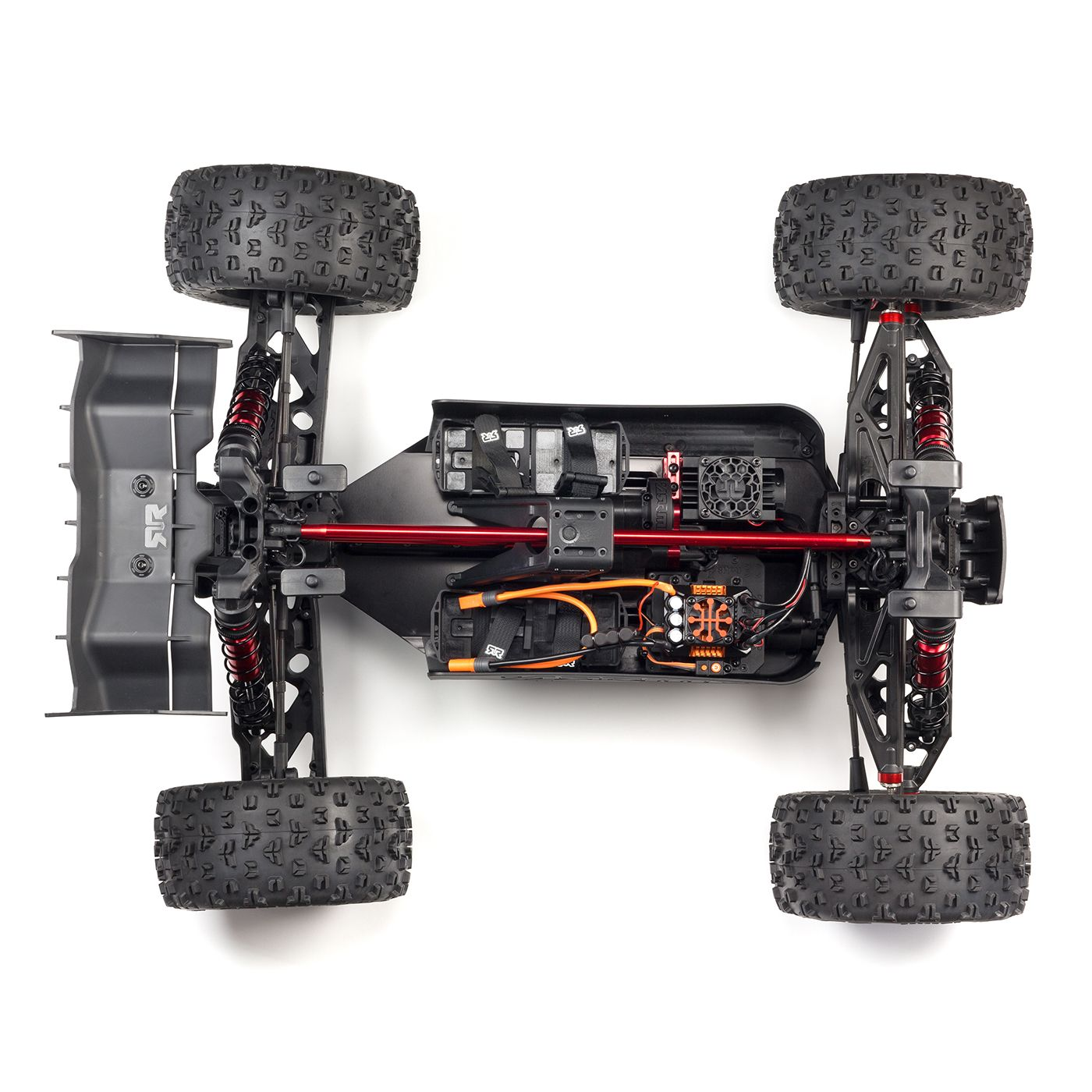 ARRMA Kraton 8S BLX Speed Truck - Chassis Top