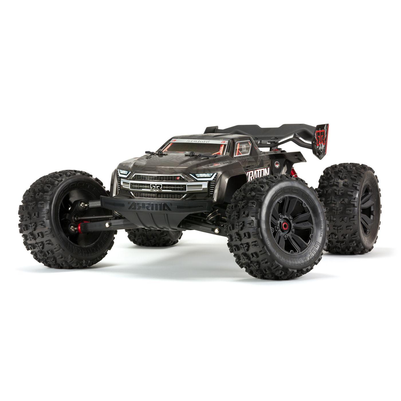 ARRMA's Kraton EXB Extreme Bash Roller 1/8-scale Monster Truck