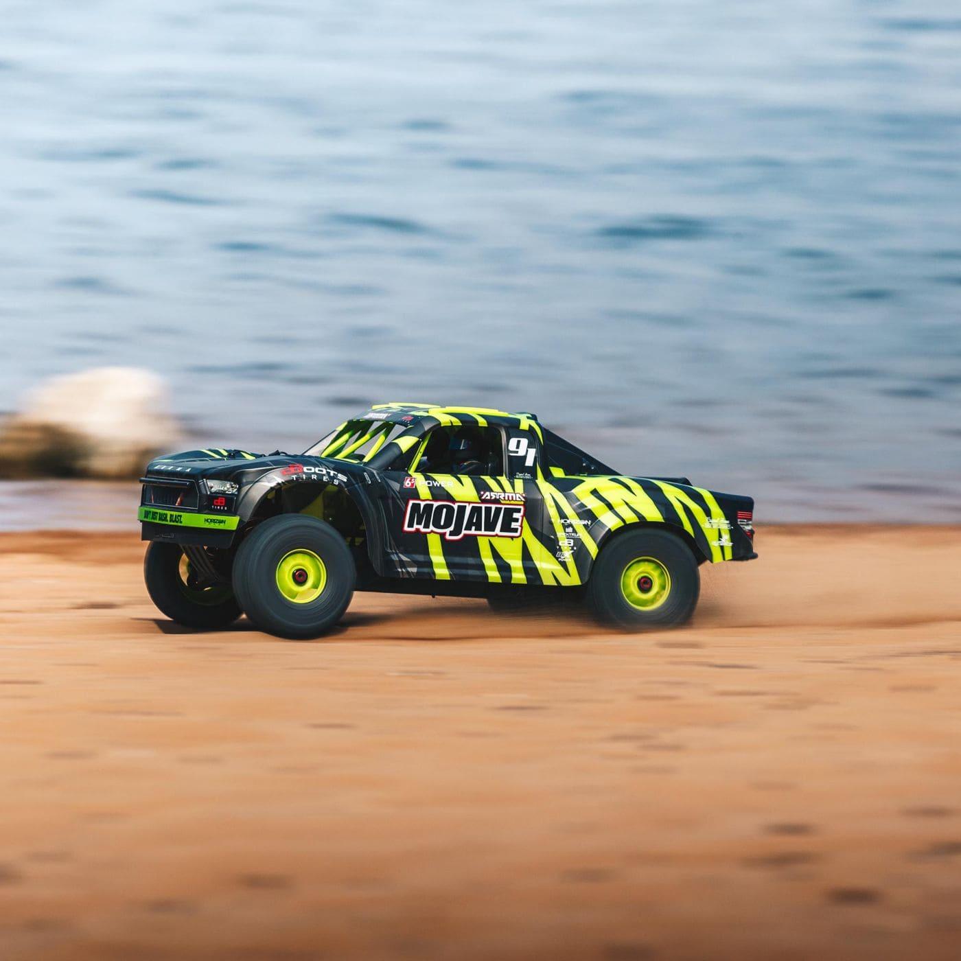 ARRMA Mojave 6S BLX Desert Truck - Action