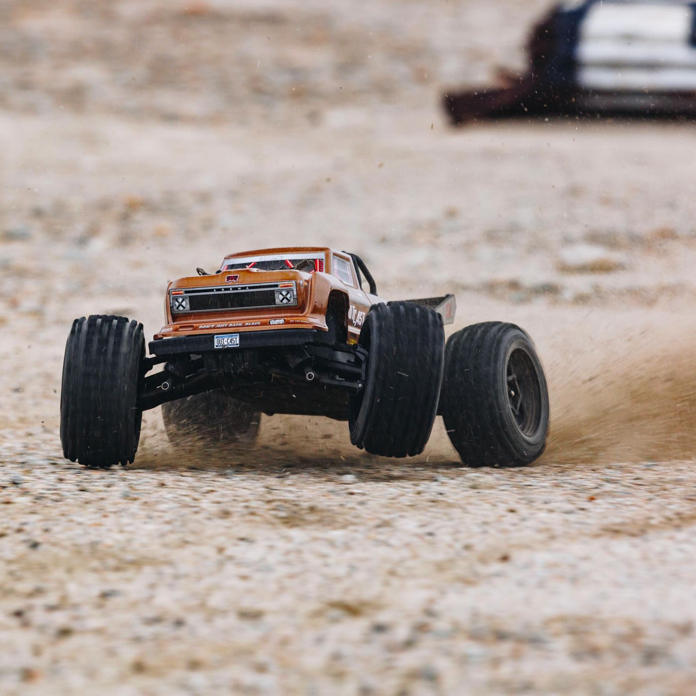 Action Time with the ARRMA Outcast 4S BLX [Video]
