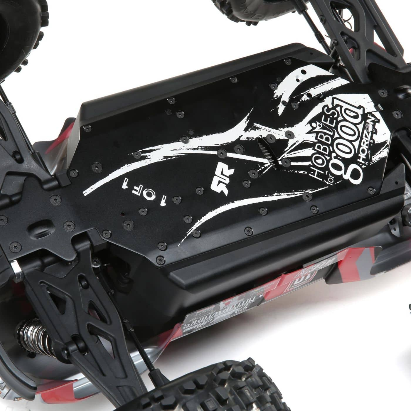ARRMA Outcast 6S 10th Anniversary Edition - Chassis Detail