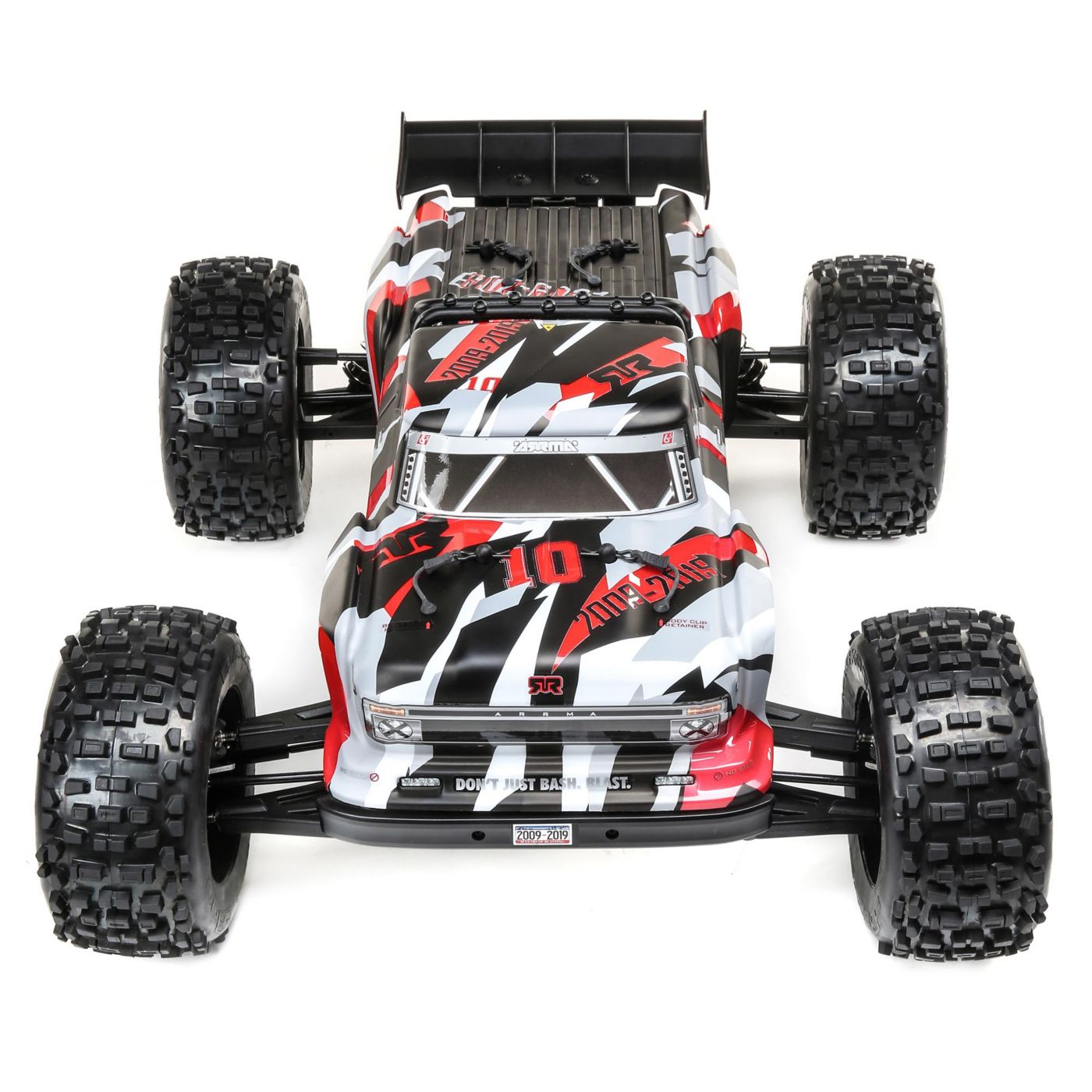 ARRMA Outcast 6S 10th Anniversary Edition - Front