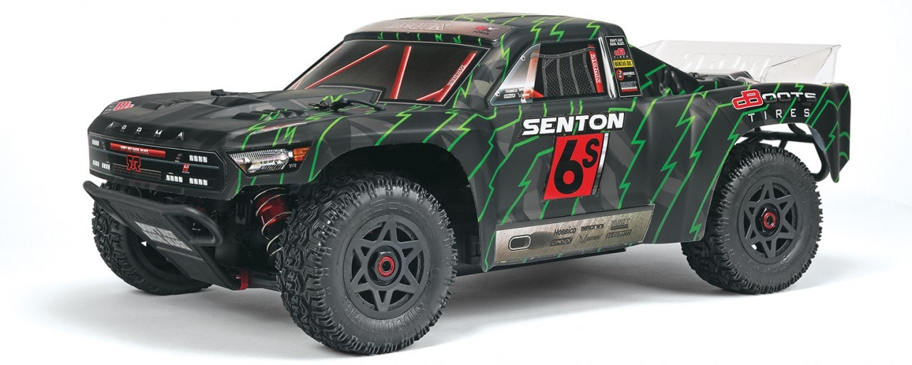 ARRMA Updates the Senton 6S BLX Short Course Truck for 2018