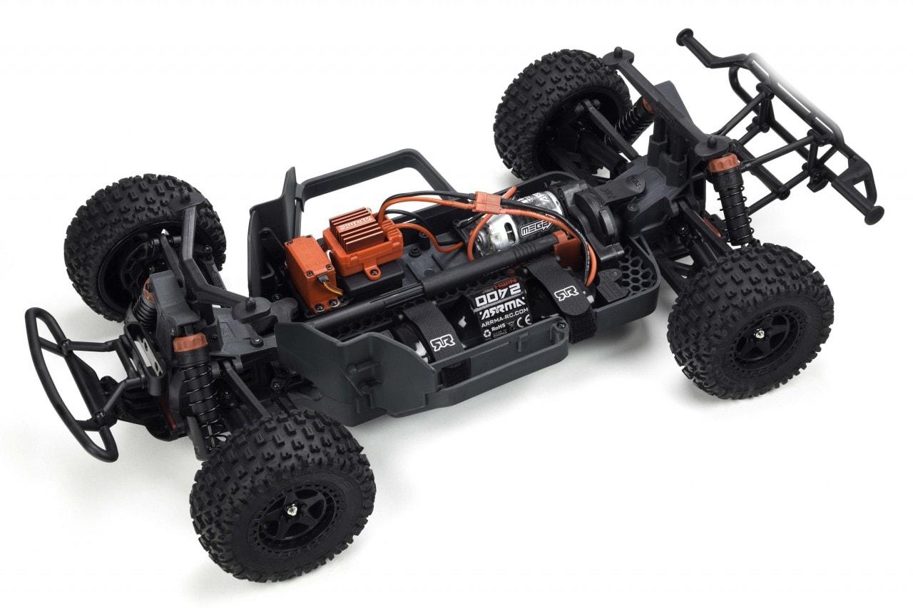ARRMA Senton Mega 4x4 - Chassis