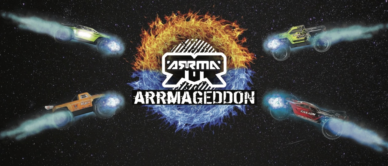 Prepare for ARRMAgeddon at Falcon Hobby Supply on October 28