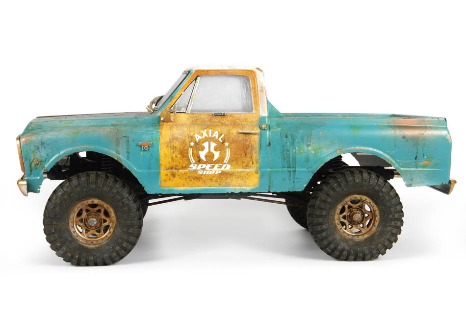 Axial 1967 Chevrolet C-10 Body - Side