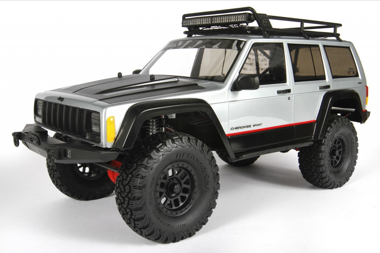 Update Your SCX10 with Axial's 2000 Jeep Cherokee Body