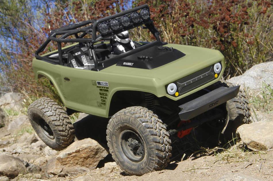 Axial SCX10 II Deadbolt RTR Trail Truck