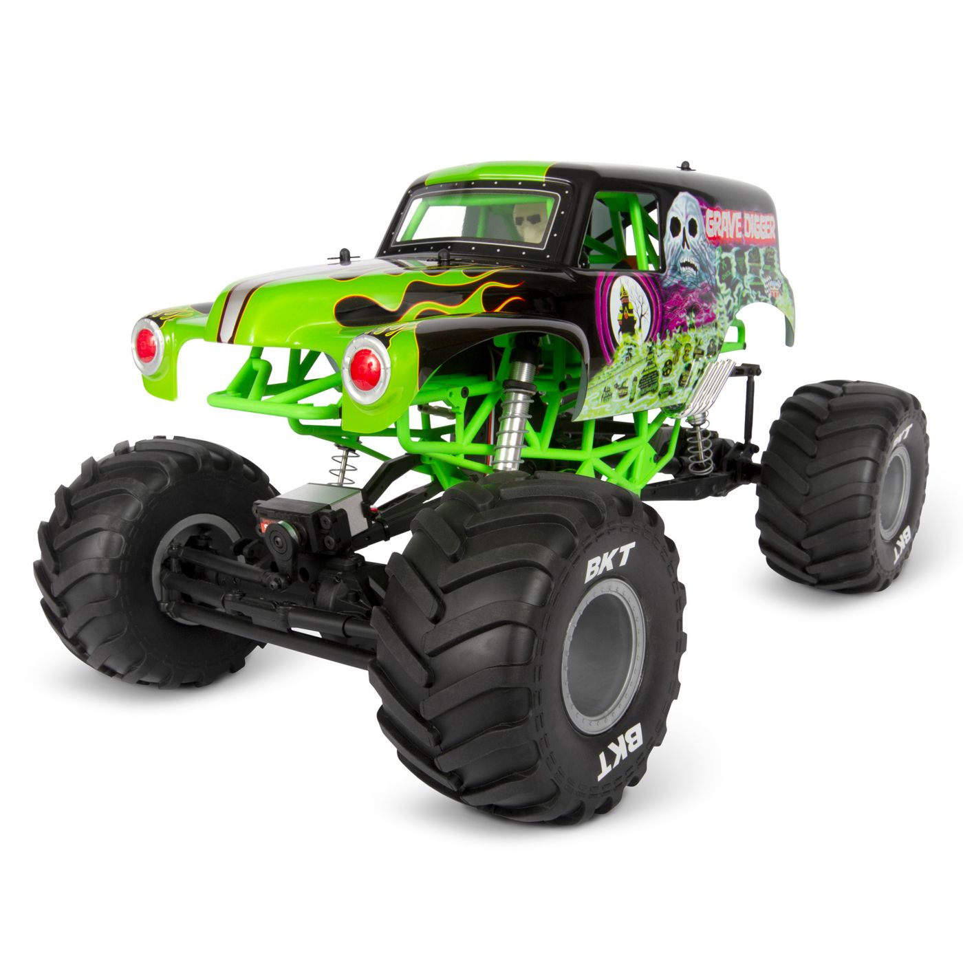 Refreshed for 2020: Axial's SMT10 Grave Digger RTR Monster Truck