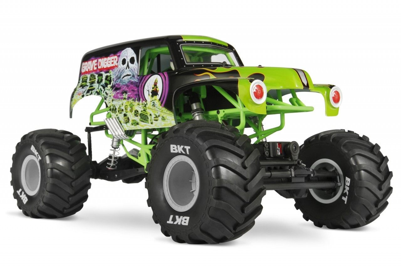 Axial's SMT10 Grave Digger Monster Truck
