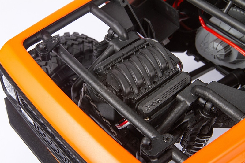 Axial Wraith 19 RTR - Engine Detail