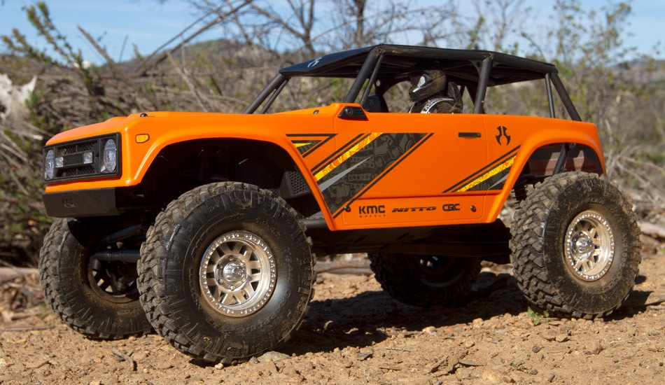 Axial Reworks the Wraith into a 1.9″ RTR Crawler