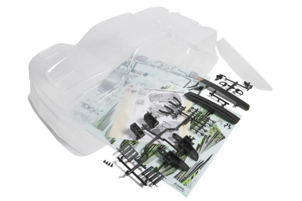Axial Yeti SCORE Trophy Truck Clear Body (AX31302)
