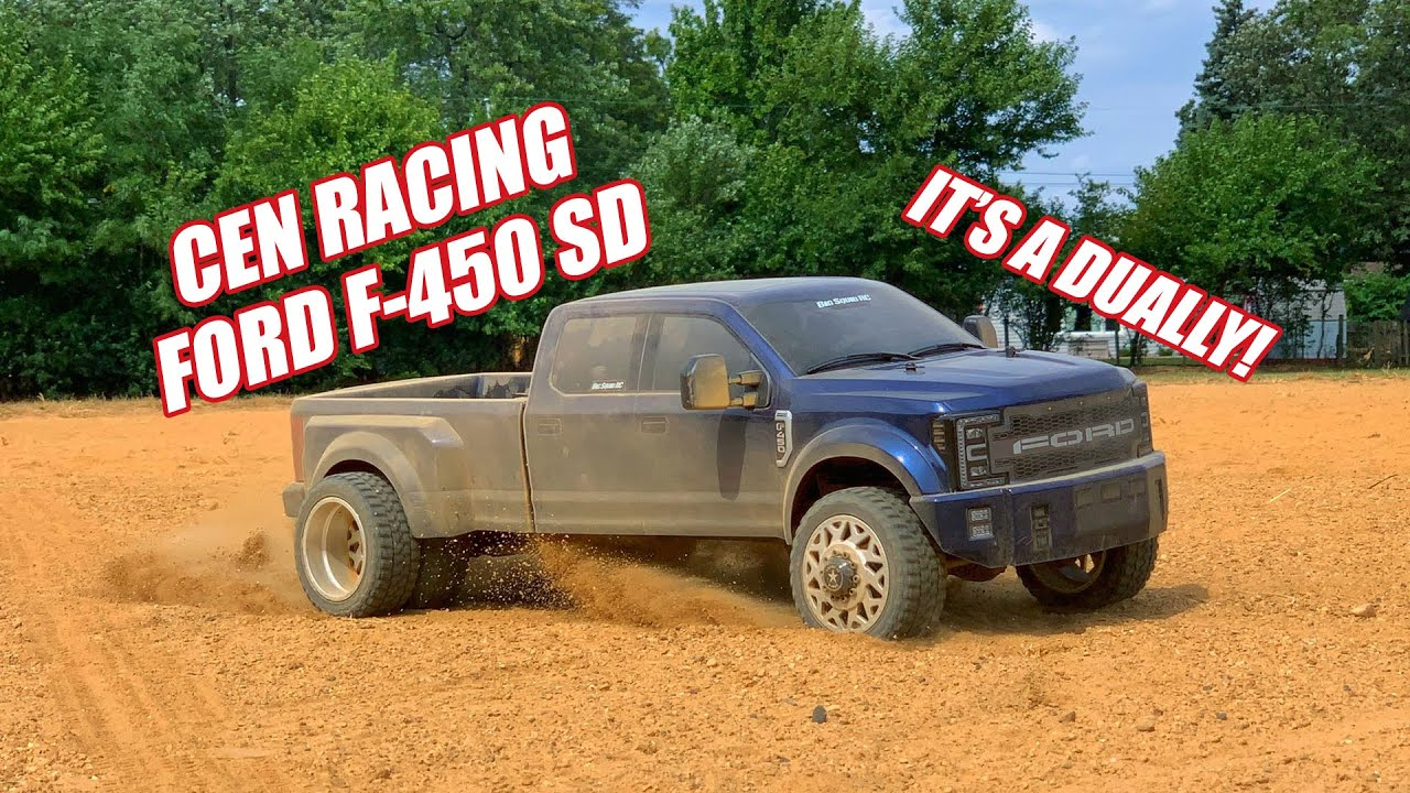 Go for a Test Drive with Big Squid RC & CEN Racing's Ford F450 SD Dually [Video]