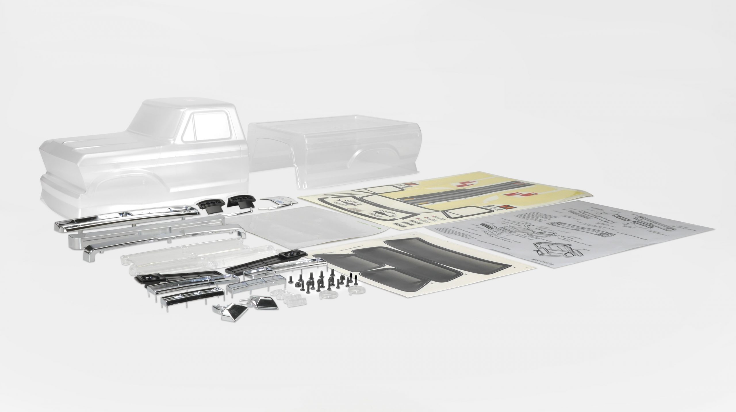Customize Your Carisma SCA-1E with this 1976 Ford F-150 Half-cab Body Set