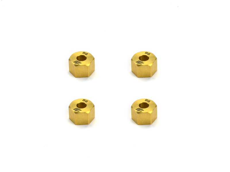 Carisma Brass Hex Adapters