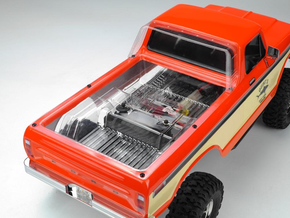 Carisma SCA-1E LWB Truck Bed - Clear