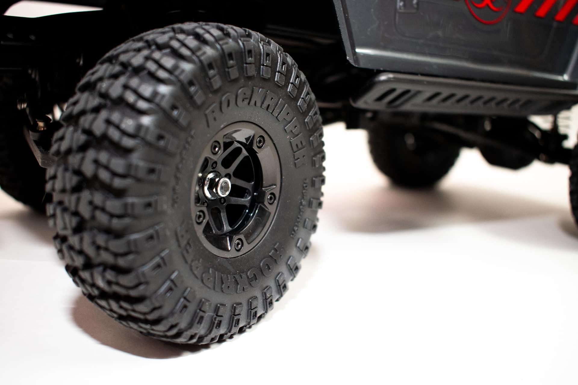 Carisma Scale Adventure Lynx - Wheel Closeup