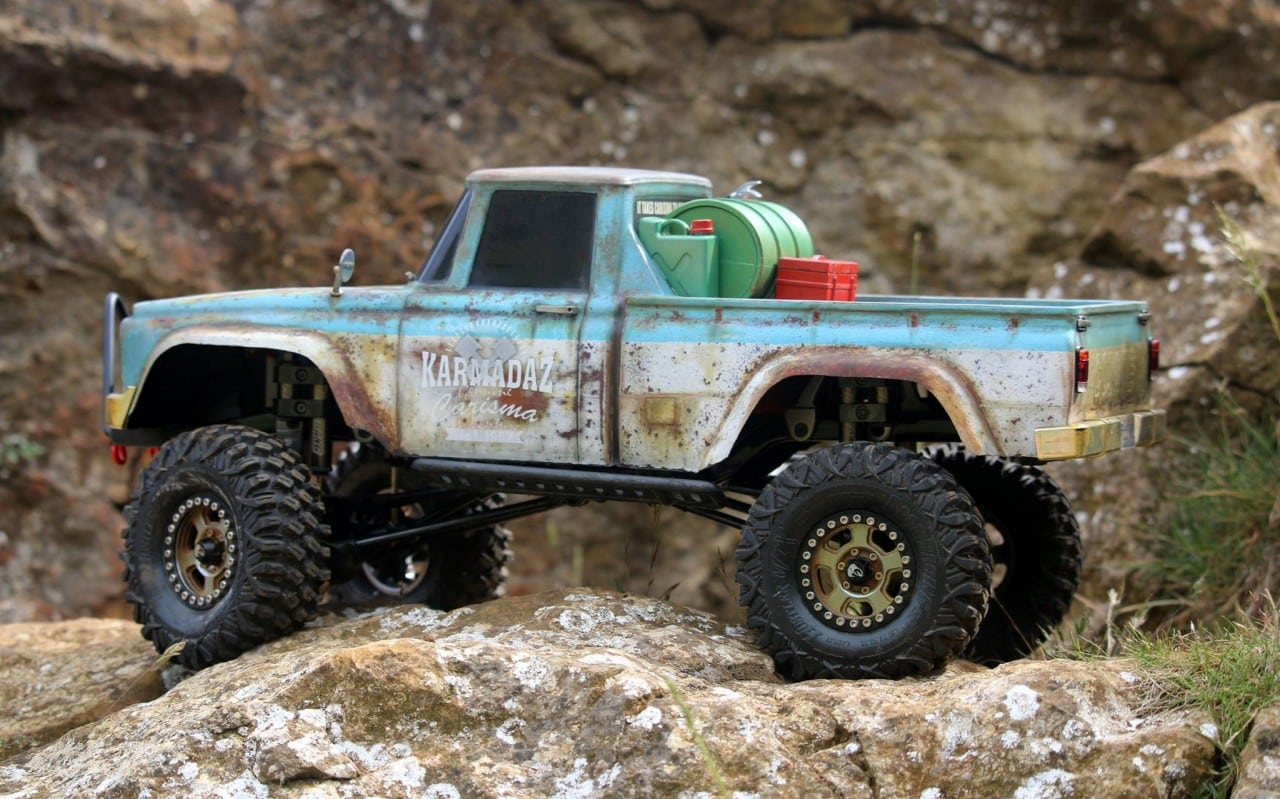 Carisma Scale Adventure SCA-1E Coyote Kit - Side