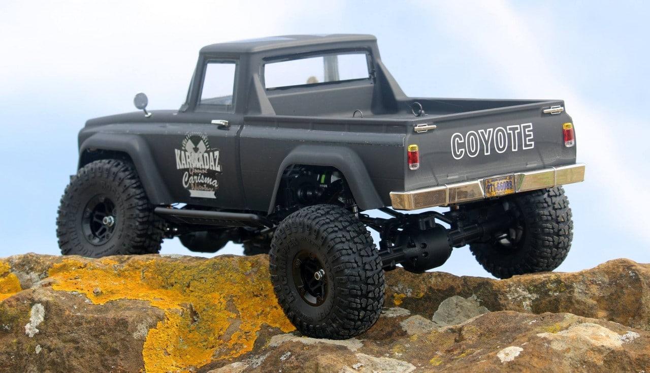 Carisma Scale Adventure SCA-1E Coyote RTR - Rear 2