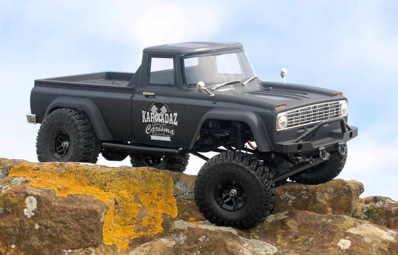 Carisma Scale Adventure SCA-1E Coyote RTR - Rocks