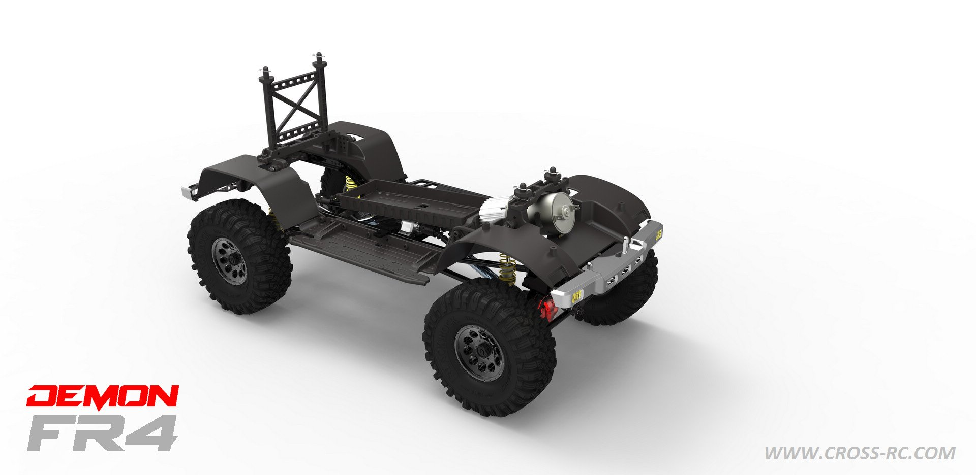 Cross RC FR4 Crawler Kit - Chassis