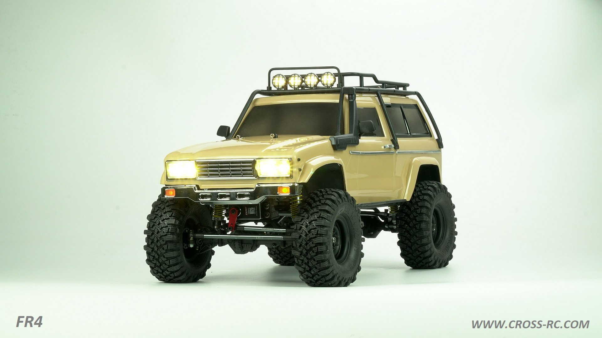 Cross RC FR4 4×4 Crawler Kit Series
