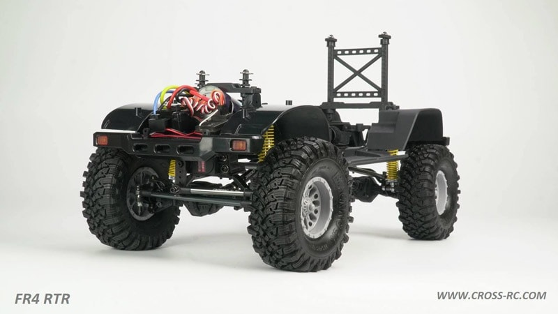 Cross RC FR4 Demon RTR - Chassis