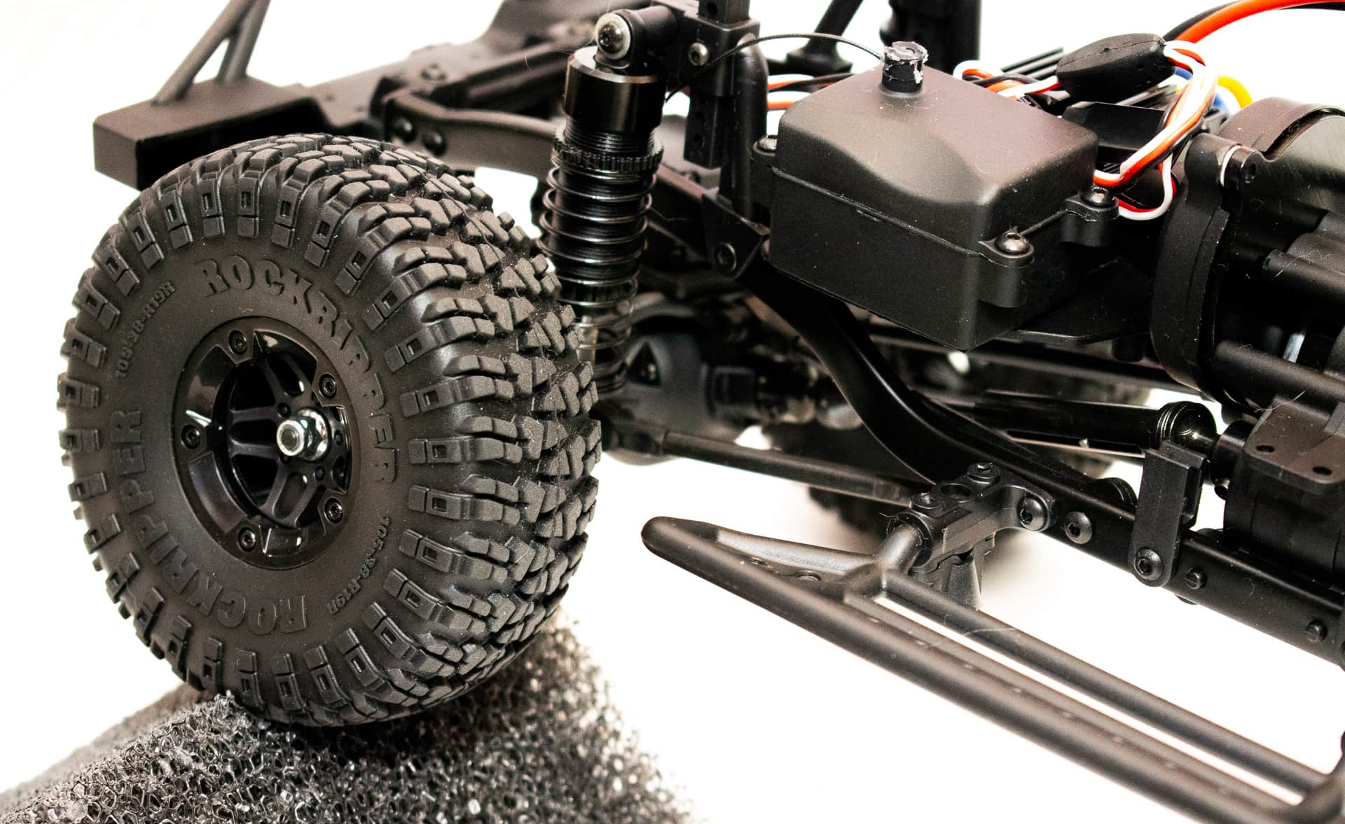 Carisma Scale Adventure Lynx ORV - Wheel Closeup
