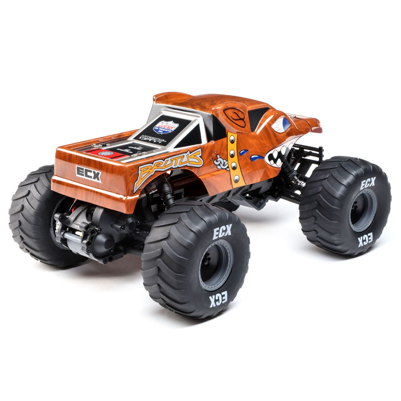 ECX Brutus 2WD Monster Truck - Rear