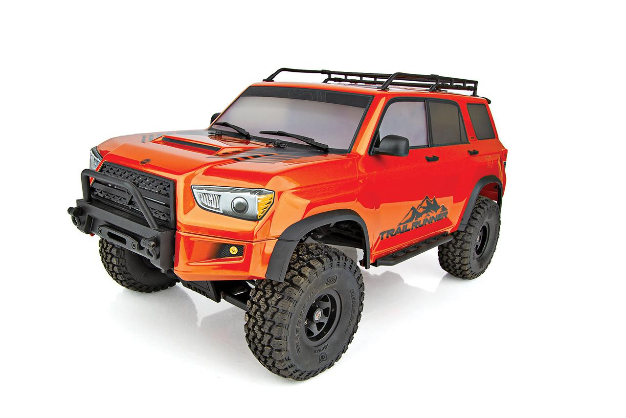 Warm Up with Element RC's Latest Trailrunner 4×4 Color: Fire