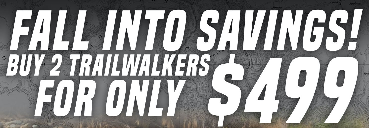 """Fall Into Savings with the Element RC Trailwalker """"2 for $499 Sale"""""""