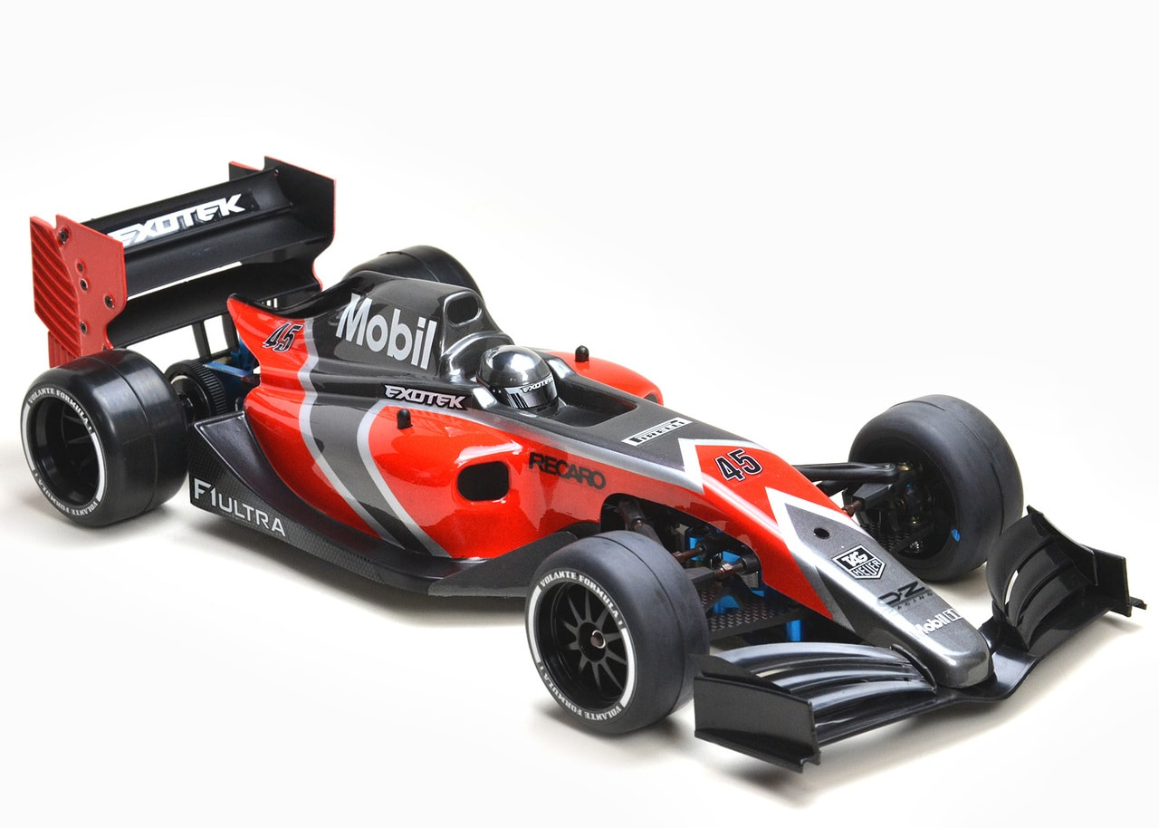 Exotek Racing Releases the 1/10-scale F1 Body