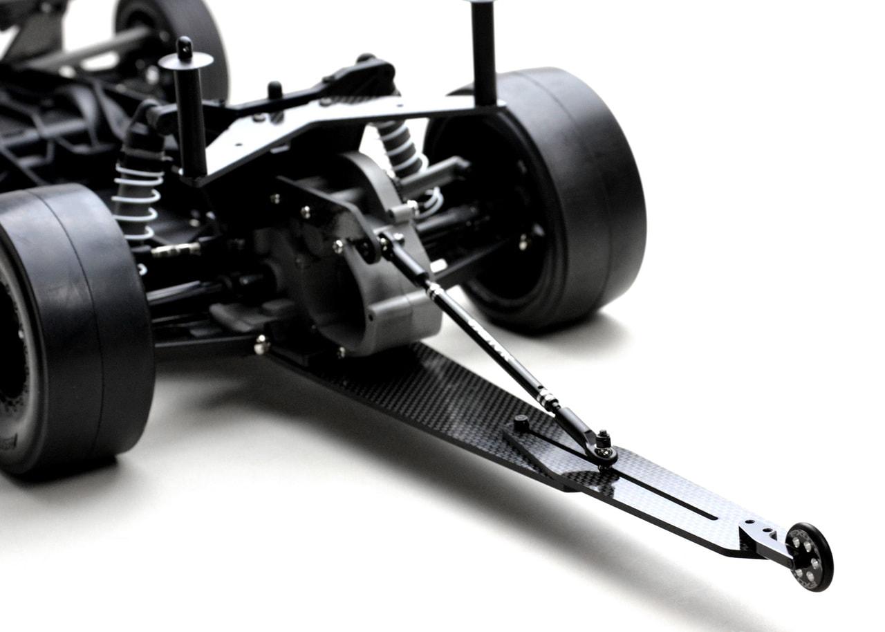 Exotek Racing Releases a Carbon Fiber Wheelie Bar Set for Custom Slash & Bandit Dragster Conversions