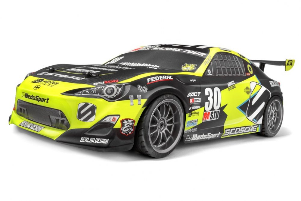 "Hit the Road with HPI's E10 ""Michele Abbate Edition"" Touring Car"