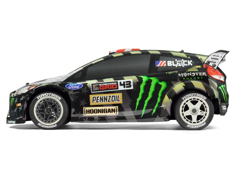 HPI WR8 Flux Ken Block Gymkhana Ford Fiesta - Side