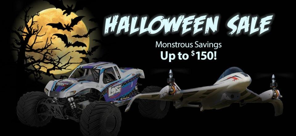 Scare Up Some Savings During Horizon Hobby's Halloween Sale