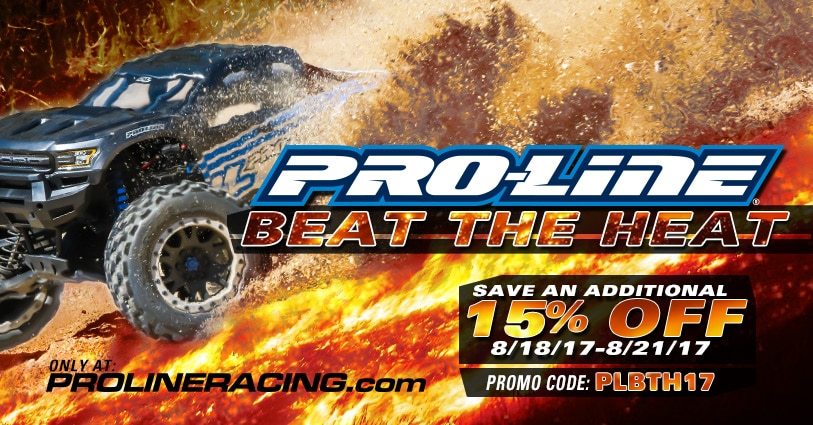 "Summertime Savings During Pro-Line's ""Beat the Heat"" Event"