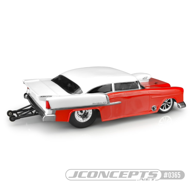 JConcepts 1955 Chevy Bel Air Drag Eliminator Body - Rear