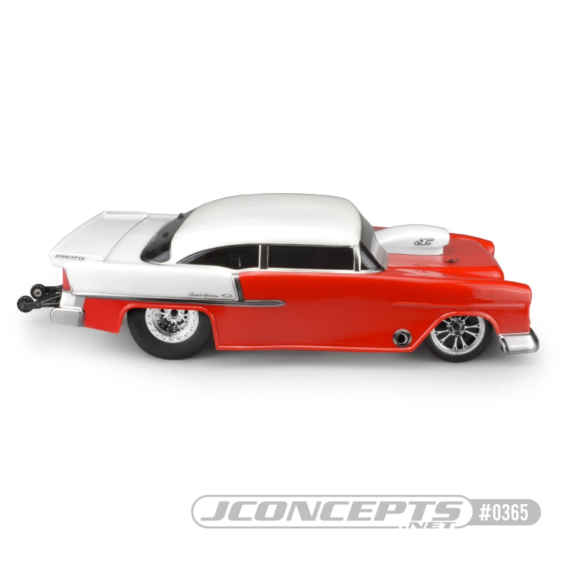 JConcepts 1955 Chevy Bel Air Drag Eliminator Body - Side