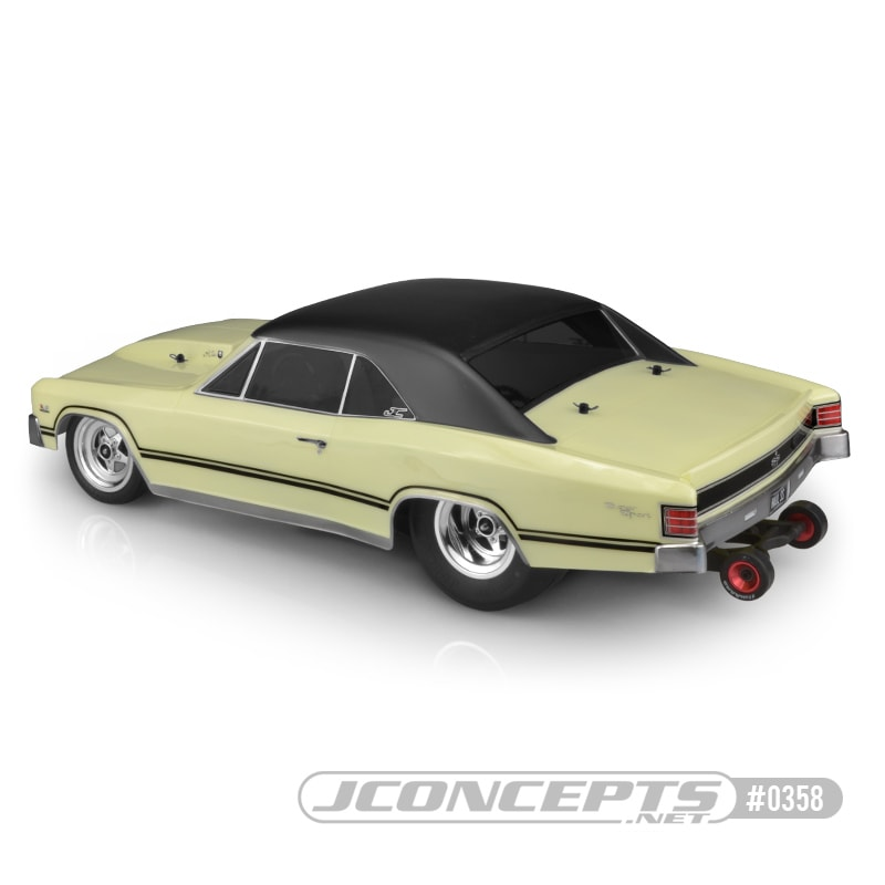 JConcepts 1967 Chevy Chevelle Body - Rear