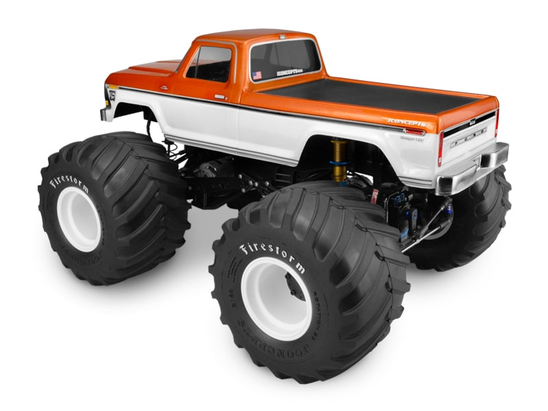 JConcepts 1979 Ford F-250 Monster Truck Body - Rear