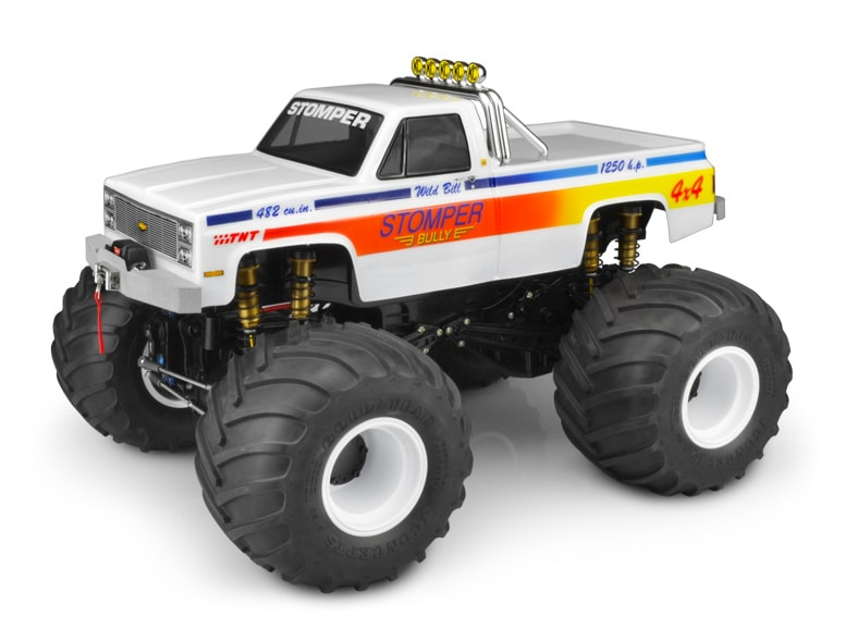 JConcepts 1982 GMC K2500 Clear Body for the Traxxas Stampede