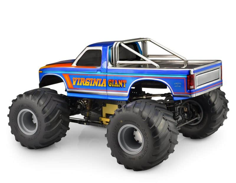 JConcepts 1984 Ford F-250 Monster- Scale Truck Body - Side Rear