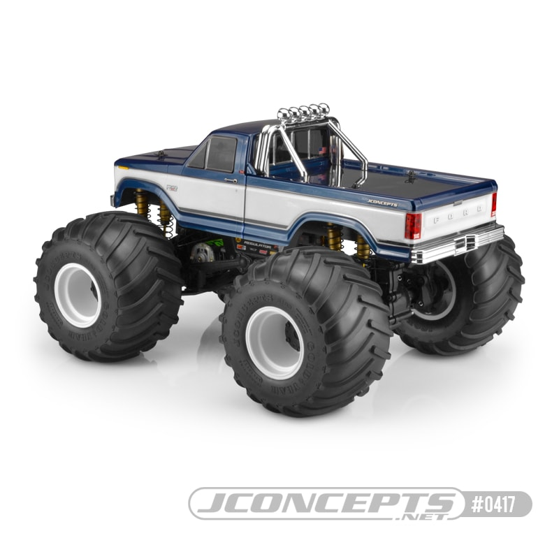 JConcepts 1984 Ford F-250 Monster Truck Body - Rear