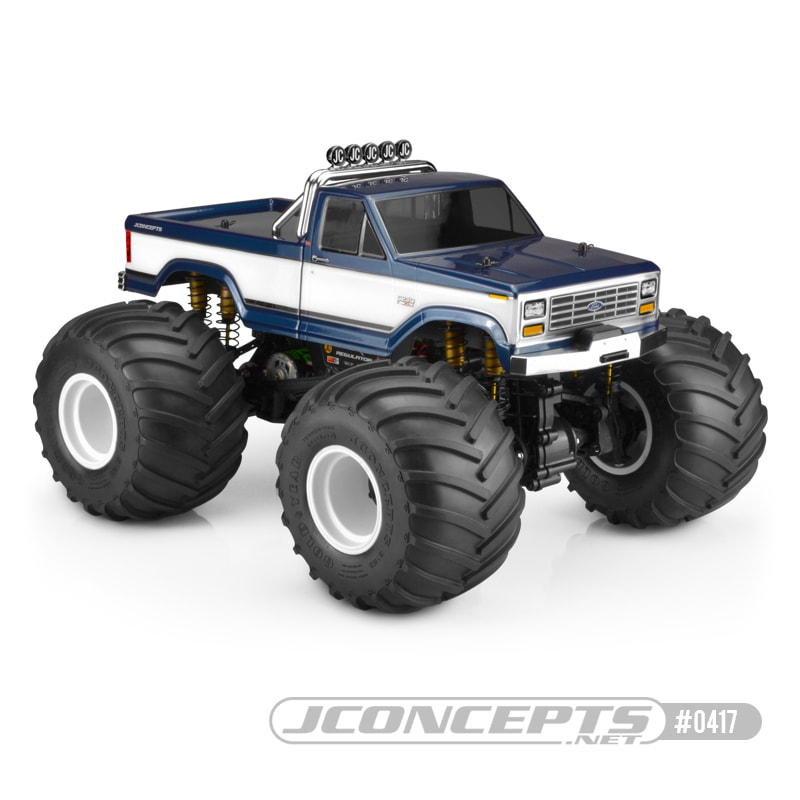 JConcepts 1984 Ford F-250 Monster Truck Body