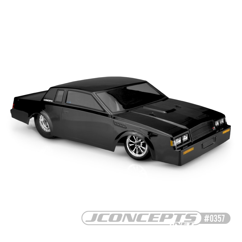 JConcepts 1987 Buick Grand National Street Eliminator R/C Dragster Body